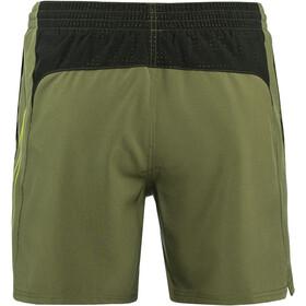 "Nike Swim Perforated Swoosh 5"" Volley Shorts Men medium olive"